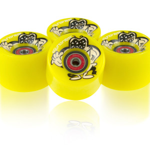 SmoothStar Stingray Wheels – Yellow