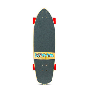 Barracuda Natural | SmoothStar Surf Skateboards