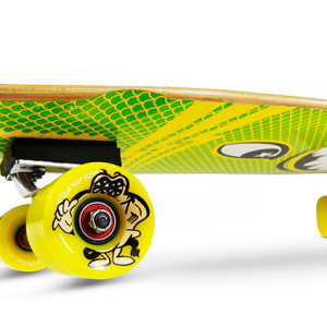 Barracuda Yellow | SmoothStar Surf Skateboards